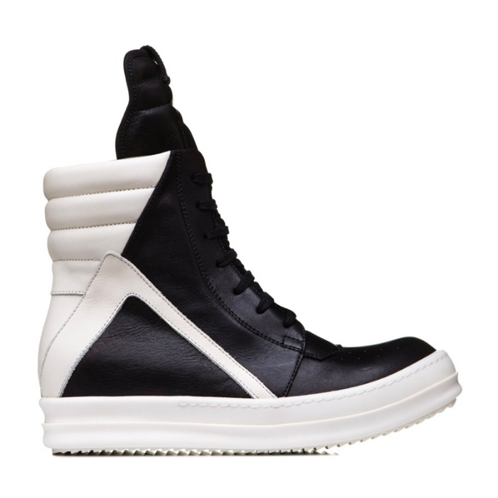 유럽직배송 릭오웬스 RICK OWENS LARRY GEOBASKET IN BLACK