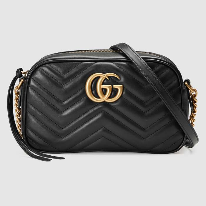 유럽직배송 구찌 GUCCI GG Marmont small matelassé shoulder bag 447632DTD1T1000