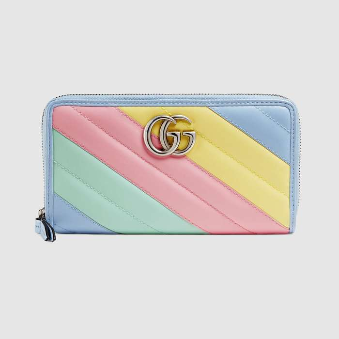 유럽직배송 구찌 GUCCI Gucci GG Marmont zip around wallet 443123DTDXP3967