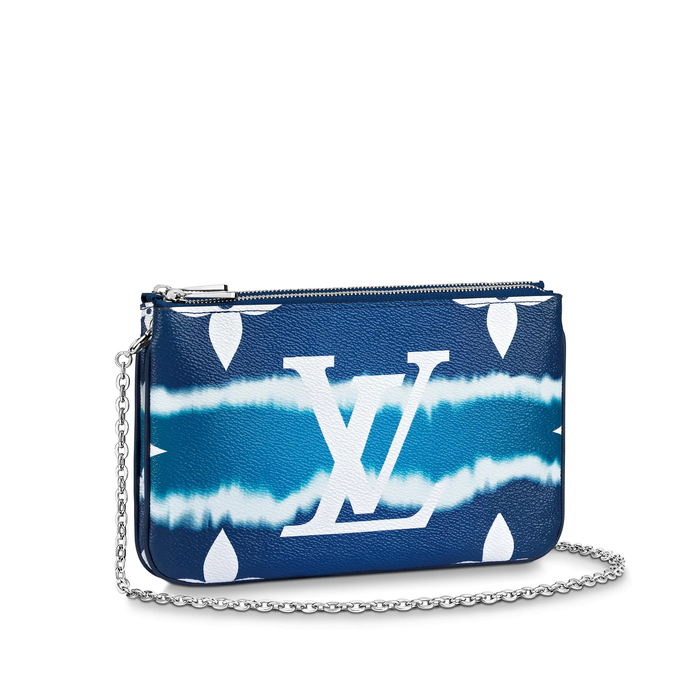유럽직배송 루이비통 LOUIS VUITTON Exclusive Prelaunch - LV Escale Pochette Double Zip M69124
