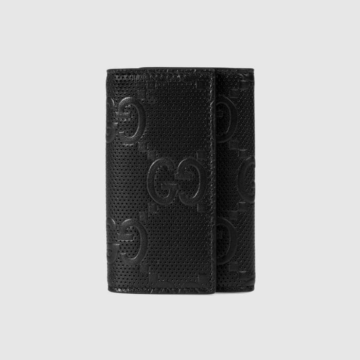 유럽직배송 구찌 GUCCI Gucci GG embossed key case 6255651W3AN1000