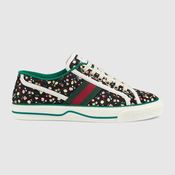 유럽직배송 구찌 GUCCI Gucci - Women's Gucci Tennis 1977 Liberty London sneaker 6061102IC101085