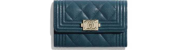 유럽직배송 샤넬 CHANEL BOY CHANEL Flap Card Holder A80603B03851N8415