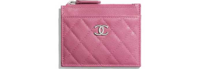 유럽직배송 샤넬 CHANEL Zipped Card Holder AP1935B04793NB302