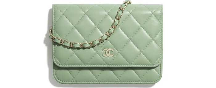 유럽직배송 샤넬 CHANEL Mini Wallet on Chain AP1649Y04059NA107