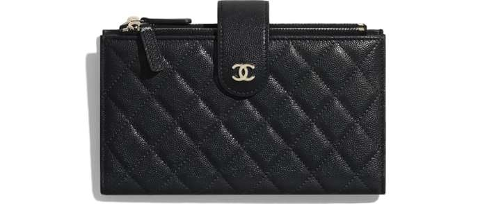 유럽직배송 샤넬 CHANEL Classic Long Zipped Wallet AP1927Y33352C3906