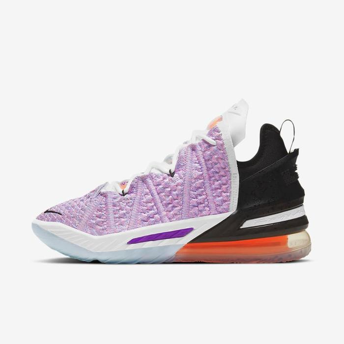 유럽직배송 나이키 NIKE LeBron 18 Basketball Shoe CQ9283-900